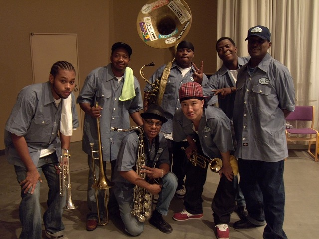 New birth brass band '09