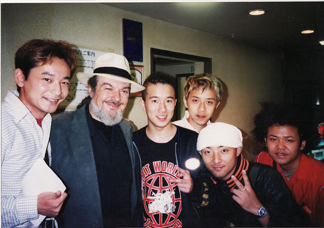 with Dr.John